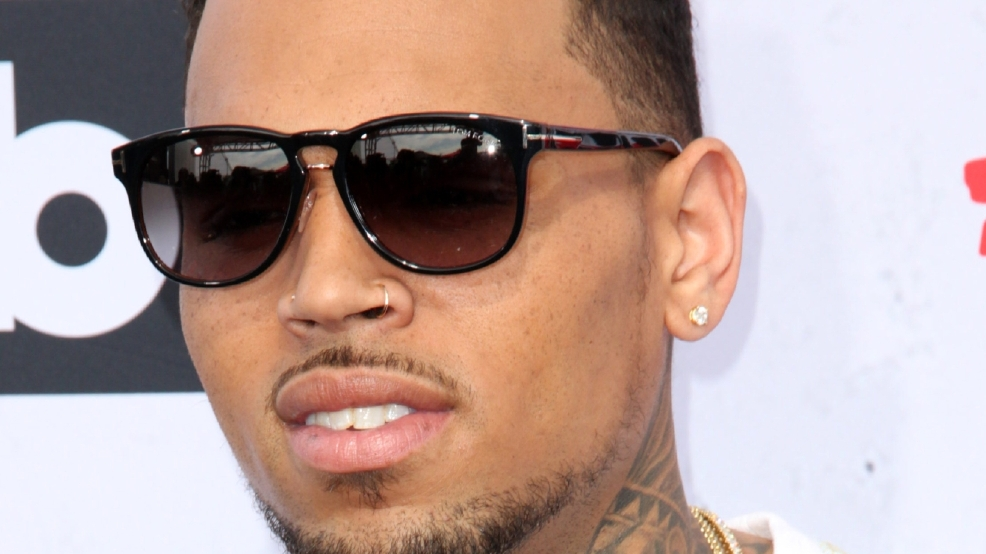 Los Angeles police respond to singer Chris Brown's home