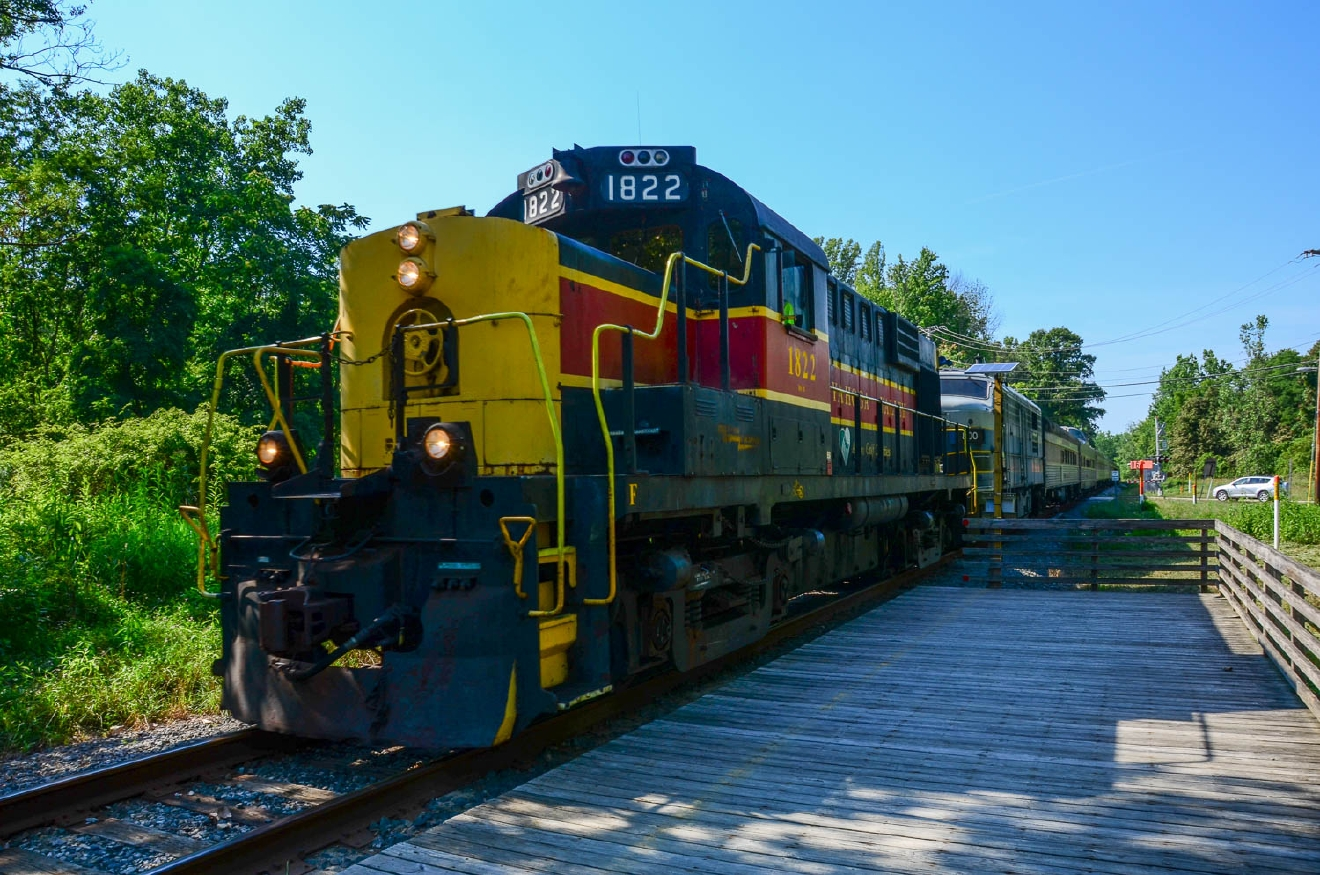 Take a trip on the Cuyahoga Valley Scenic Railroad when your legs are too tired to hike. Cuyahoga Valley National Park, which spans the gap between Cleveland and Akron along the Cuyahoga River, is worth the trip up north to experience Ohio's natural beauty. / Image: Sherry Lachelle Photography