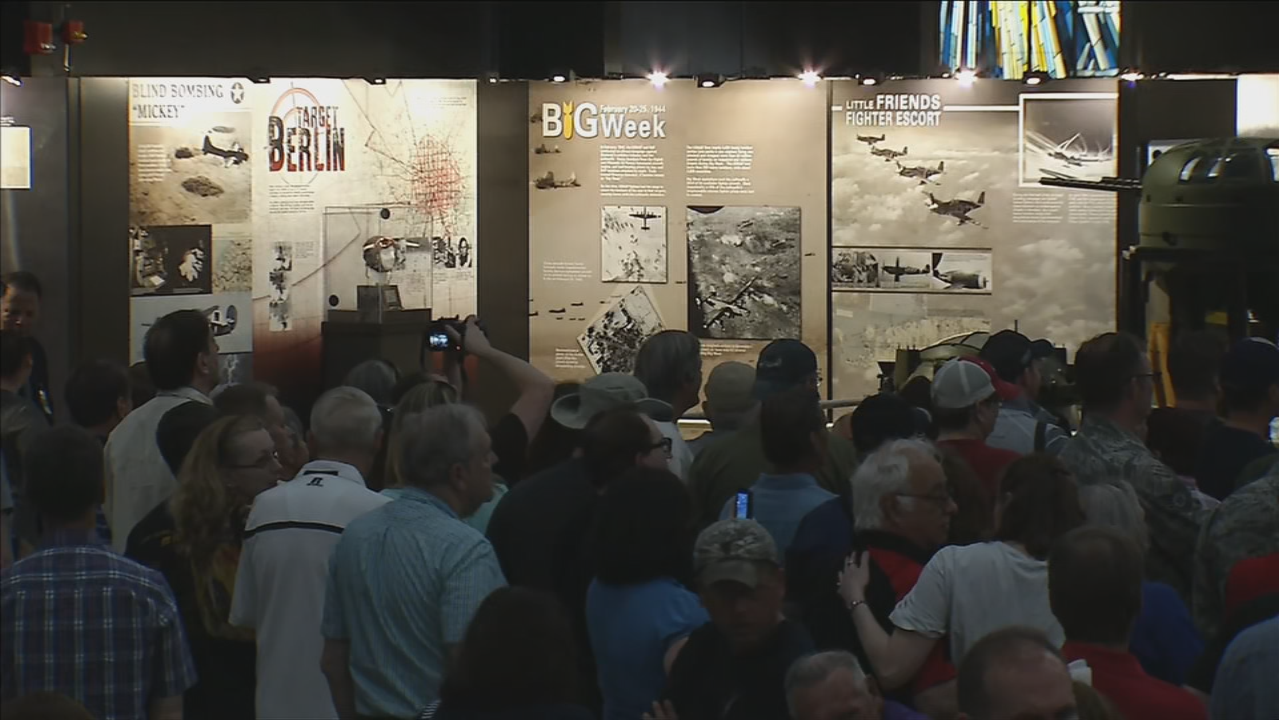 'A piece of world history': Memphis Belle exhibit opens to public (WKEF/WRGT)