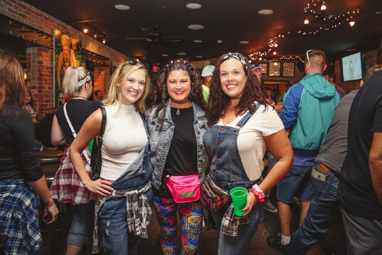 Shannon Hubard, Shelby Docter and Brooke Starkey at Scene Ultra Lounge / Image: Catherine Viox