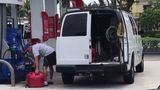 Residents make mad dash for gas as Irma approaches