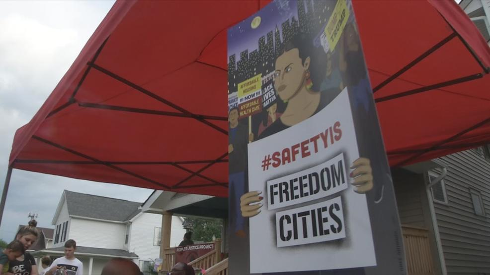 The People's Justice Project says they want to redefine what public safety means to them beyond policing. (WSYX/WTTE)