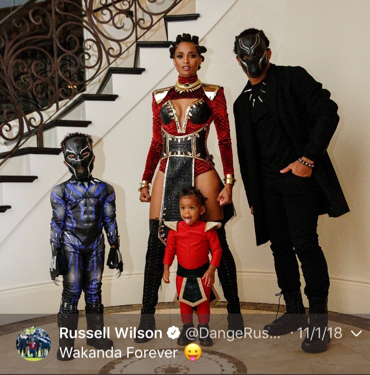 That one time Russ KILLED Halloween...Happy 30th, Russell! (Image: @dangerusswilson / twitter.com/dangerusswilson)