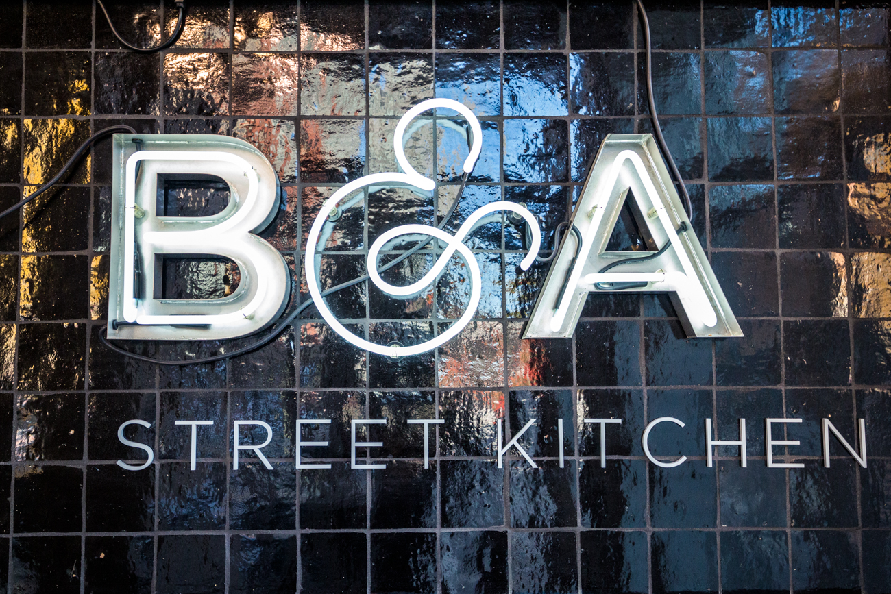 PLACE: B&A Street Kitchen / 1500 Race Street (Over-the-Rhine) / Looking for a breakfast food window? B&A's is open in the mornings daily, serving American and Tex-Mex breakfast and lunch items with plenty of vegetarian and vegan options, as well. And you can enjoy your meal in their spacious interior if you prefer. / Image: Catherine Viox // Published: 11.12.19