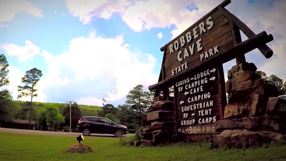 channel 8 road trip  legends come alive at robbers cave