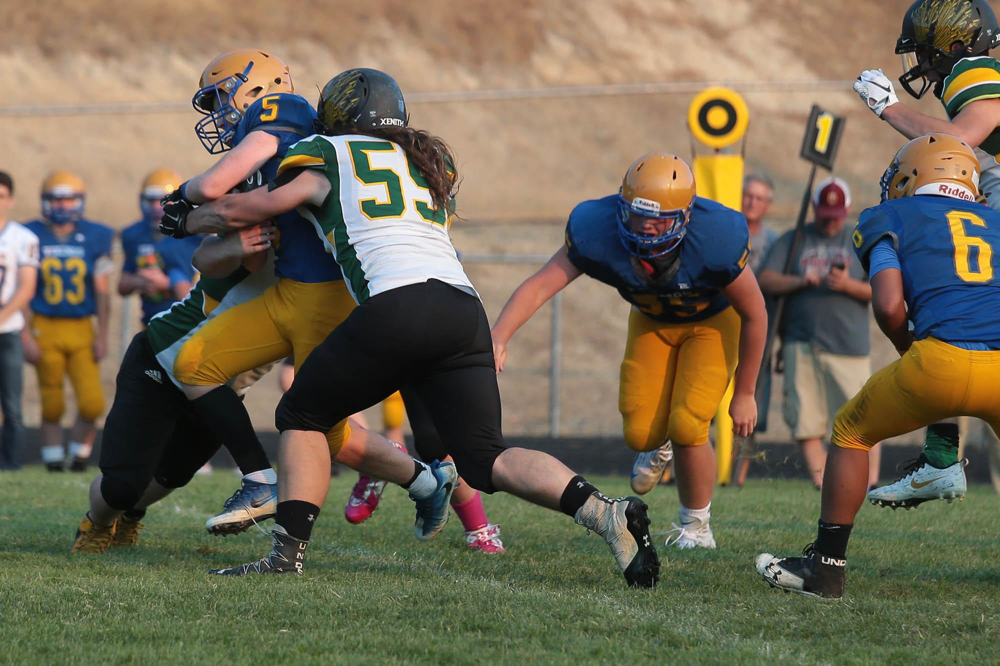 Pre-Season Football Jamboree at North Valley High School (// Photos by:  LARRY STAUTH JR)