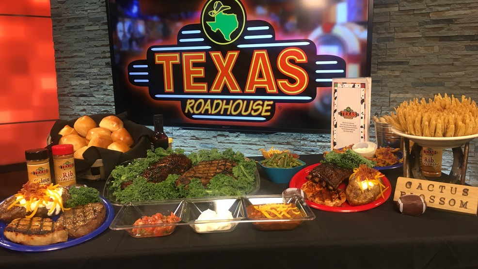 Appetizers For The Big Game With Texas Roadhouse | KRXI