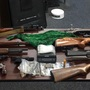 Irish Mob Gangsters arrested, guns and drugs seized when police serve search warrant
