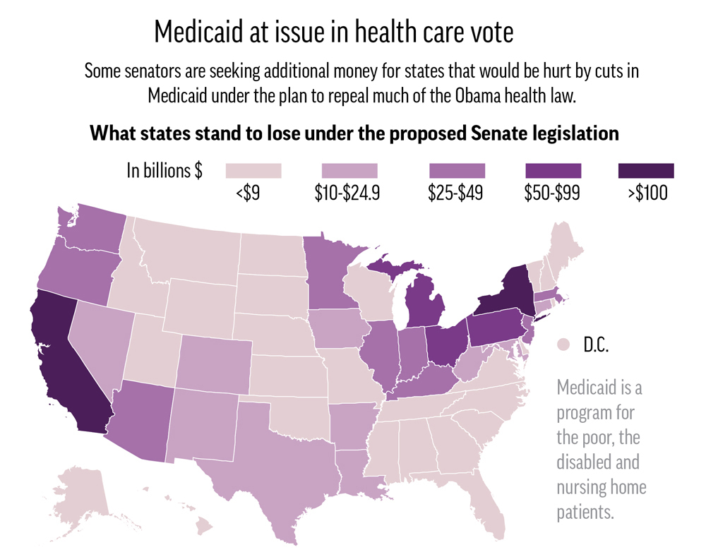 "Ther repeal ""Obamacare"" would impact the expansion of the Medicaid program."