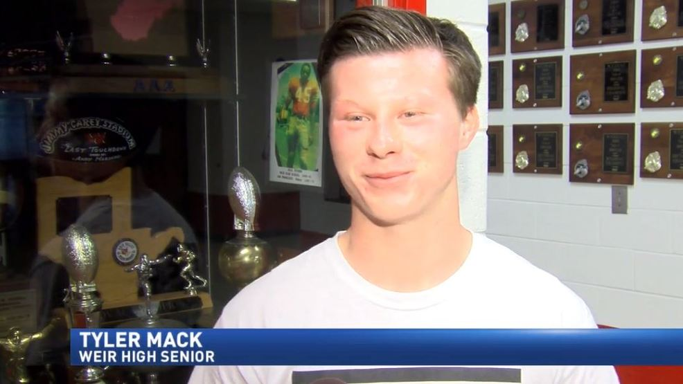 10.20.17 Scholar Athlete of the Week: Weir's Tyler Mack