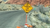 Red Rock scenic loop will be 'cone zone' due to repaving  project