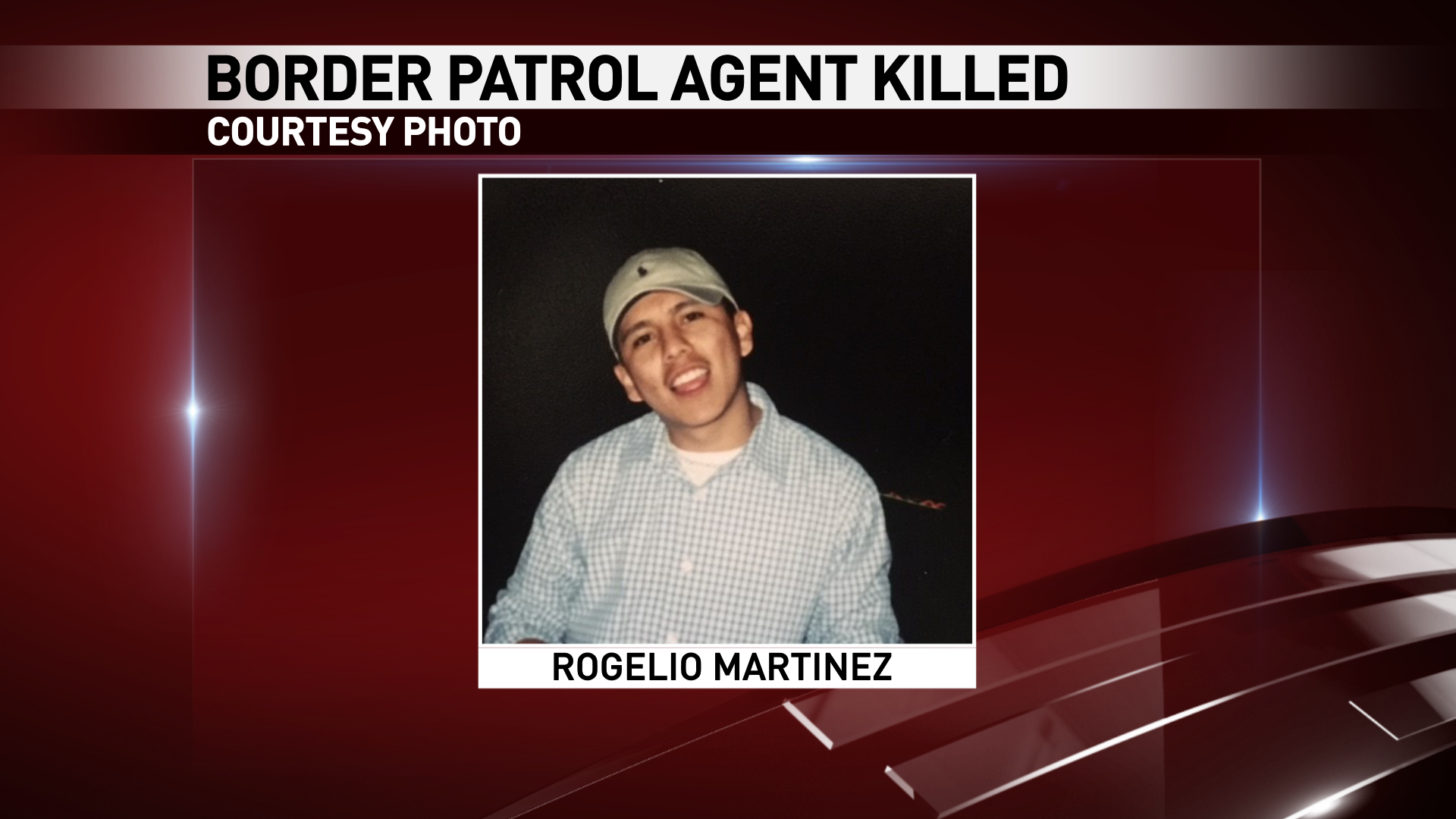 Rogelio Martinez of El Paso was killed in an incident while on duty near Van Horn, Texas Sunday, Nov. 19, 2017. (Courtesy photo)