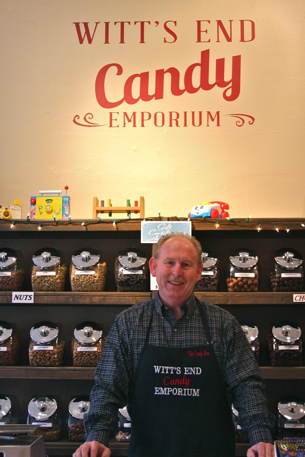 "Owner John Witt a.k.a. ""The Candy man"" / Image: Molly Paz // Published: 2.17.17"
