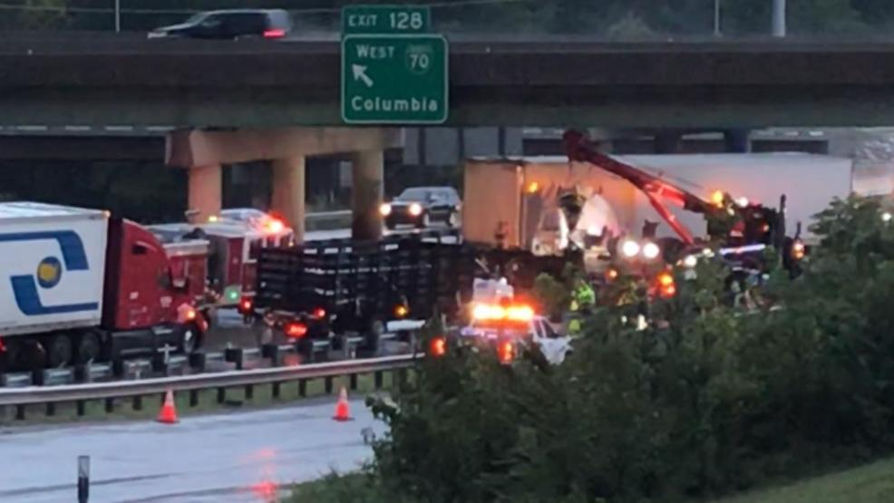 Westbound I-70 lanes reopened after crash shuts down traffic