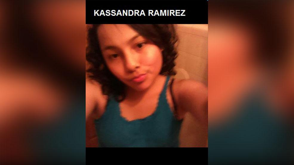 Three suspects were charged Monday in connection with Kassandra Ramirez's death, according to a news release.