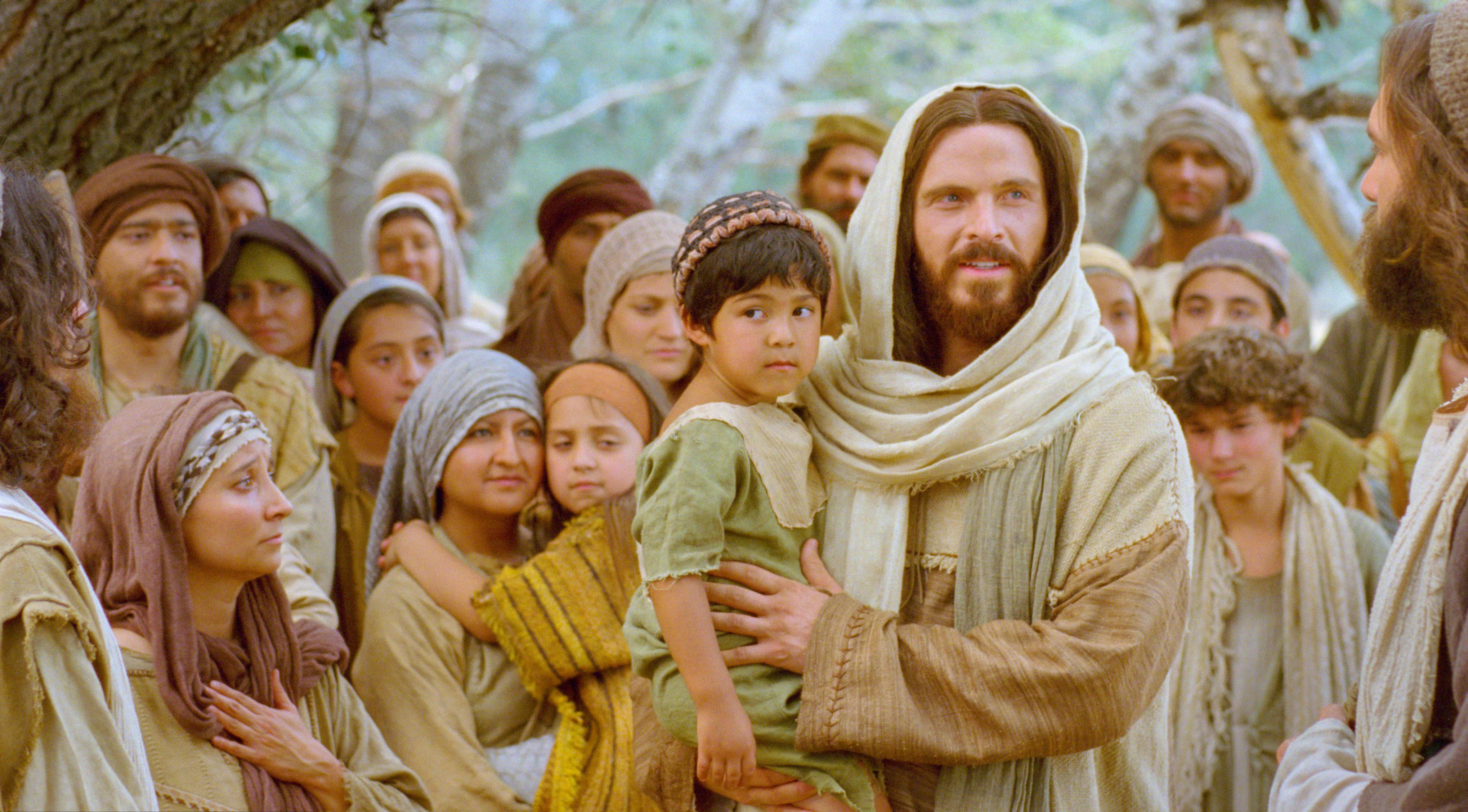 Photo released with Friday's LDS church news statement. A depiction of Jesus Christ with a child. (Photo: Intellectual Reserve Inc.)