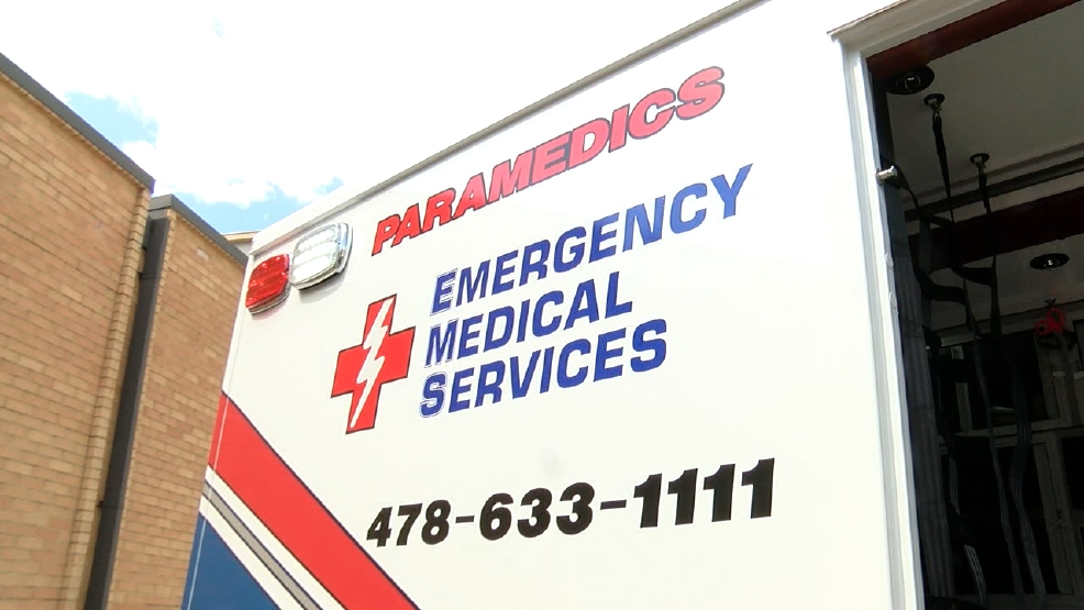 Emergency Medical Service Officials Explain Procedure In