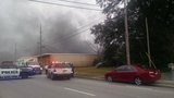 Fire crews knock down storage facility fire in Escambia County