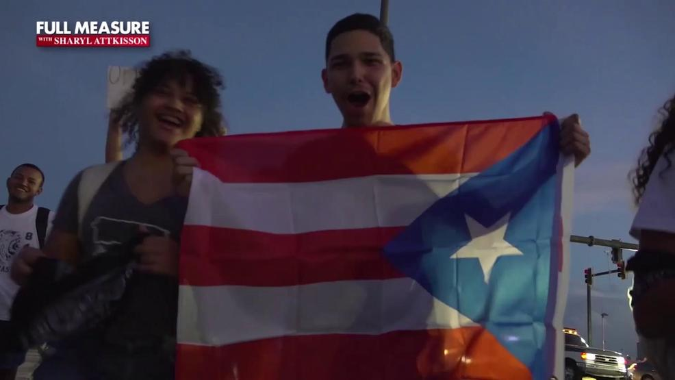 Protest amid corruption scandal in Puerto Rico | KOMO