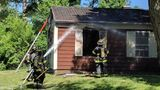 Quincy home damaged from fire
