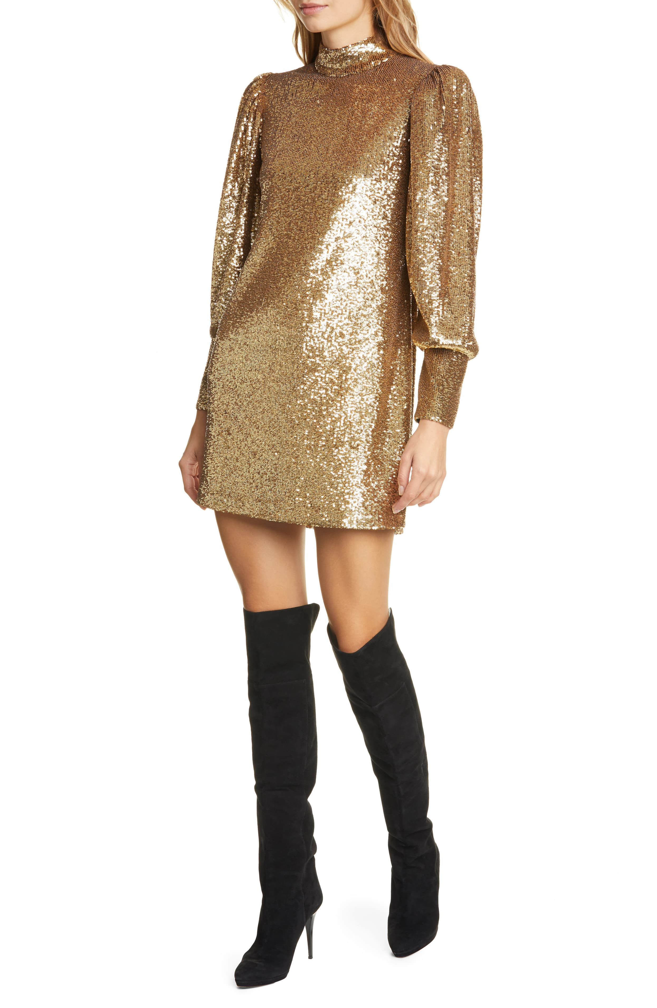 "<p>Glossy sequins deliver liquid shine on this glamorous balloon-sleeve shift inspired by the designer's past career in celebrity red-carpet styling. $595{&nbsp;}</p><p><a  href=""https://shop.nordstrom.com/s/a-l-c-christy-sequin-long-sleeve-minidress/5418569/full?origin=category-personalizedsort&breadcrumb=Home%2FWomen%2FShop%20by%20Occasion%2FNight%20Out&color=black"" target=""_blank"" title=""https://shop.nordstrom.com/s/a-l-c-christy-sequin-long-sleeve-minidress/5418569/full?origin=category-personalizedsort&breadcrumb=Home%2FWomen%2FShop%20by%20Occasion%2FNight%20Out&color=black"">Shop it{&nbsp;}</a></p><p>(Image: Nordstrom){&nbsp;}</p><p><br></p>"