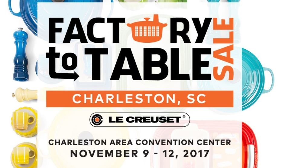 le creuset takeover of charleston area convention center to benefit local organizations wciv. Black Bedroom Furniture Sets. Home Design Ideas