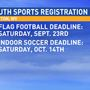 Fall sports leagues offered by the Weirton Millsop Center