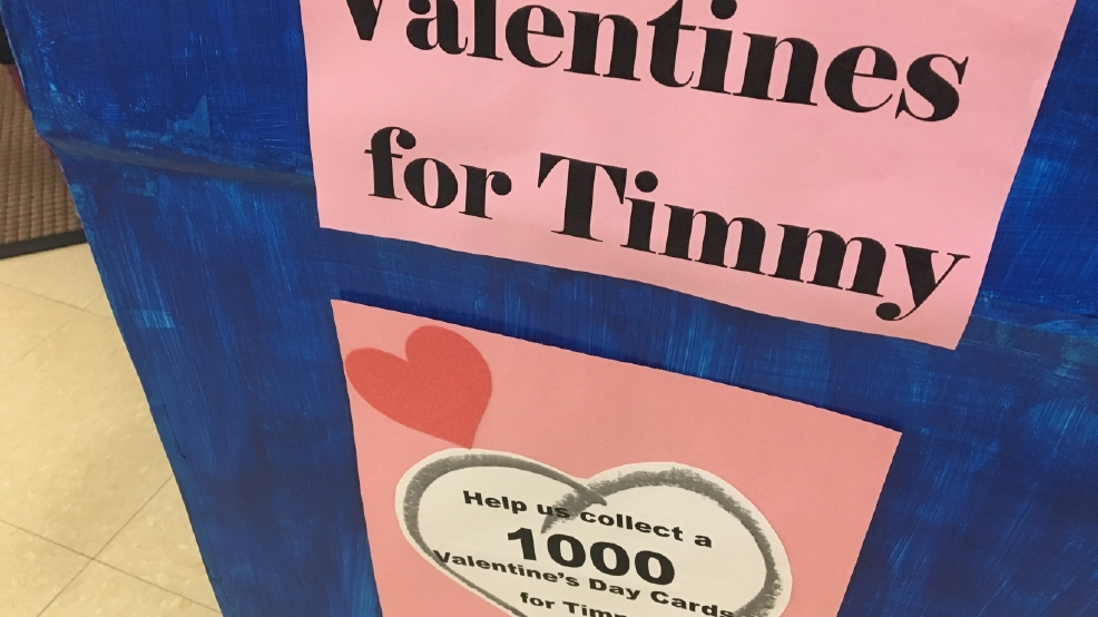 Valentines card drive for 5yearold fighting cancer  WSYX