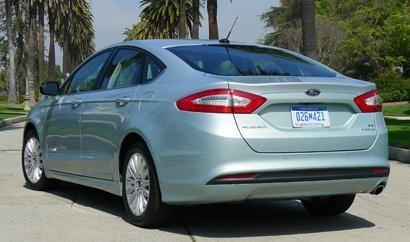 Redesigned for the 2013 model year, the all-new Ford Fusion Hybrid is both bigger and more stylish than its predecessor, and earns up to 47 mpg. Base MSRP: $27,200