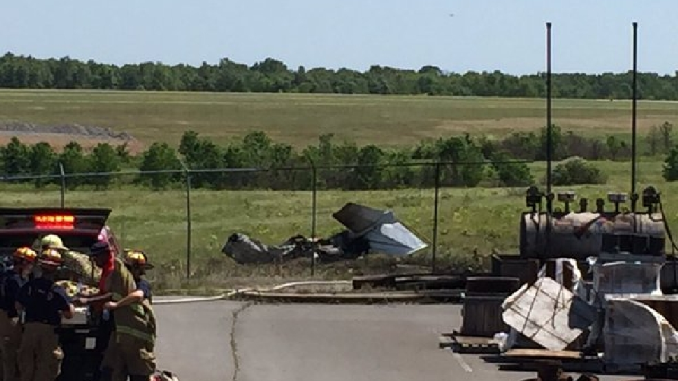 VIDEO: Plane crash leaves one dead, another injured at North Little