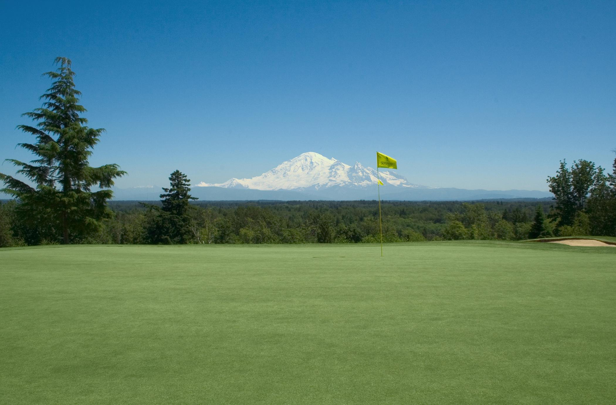 Surrounded by water on three sides and boasting incredible mountain views, Semiahmoo Resort is set on a sandy spit in Puget Sound less than two hours from Seattle.
