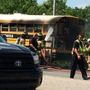 Students escape bus fire in Madison County