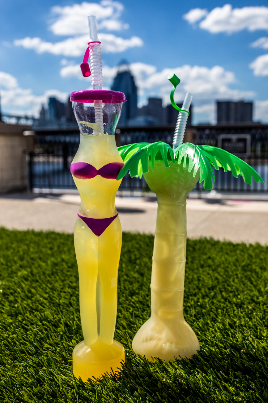 A Bahama Mama & a Zombie from Kon Tiki Bar / Image: Catherine Viox{ }// Published: 6.25.20