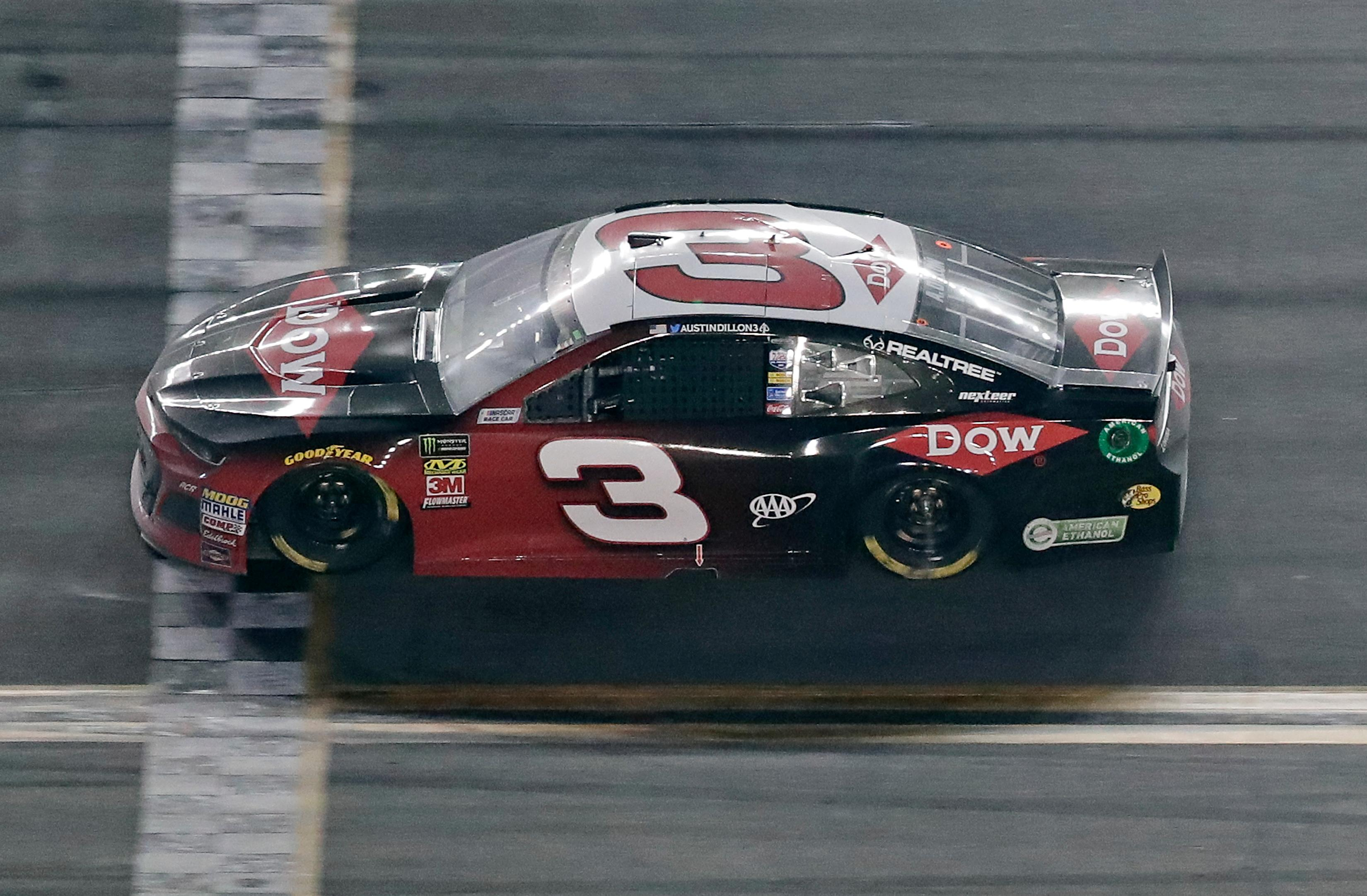 Austin Dillon takes No. 3 back to victory lane at Daytona | WBFF