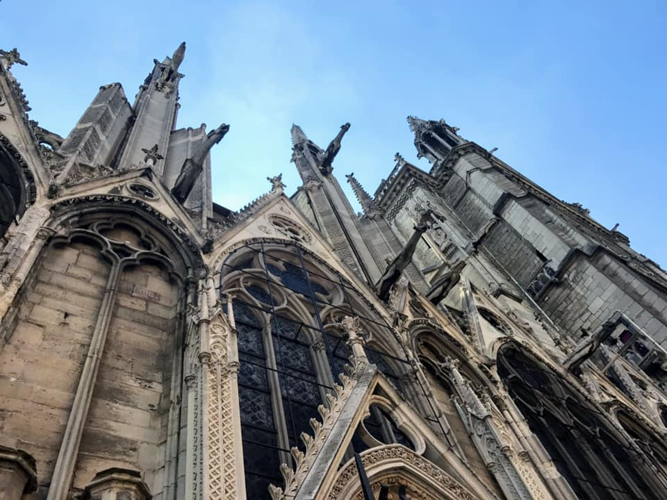 Locals shared their memories and photos of the historic Notre Dame on April 15, 2019 after hearing the gothic Parisian cathedral suffered serious damage after a fire. (Image - James Wright)