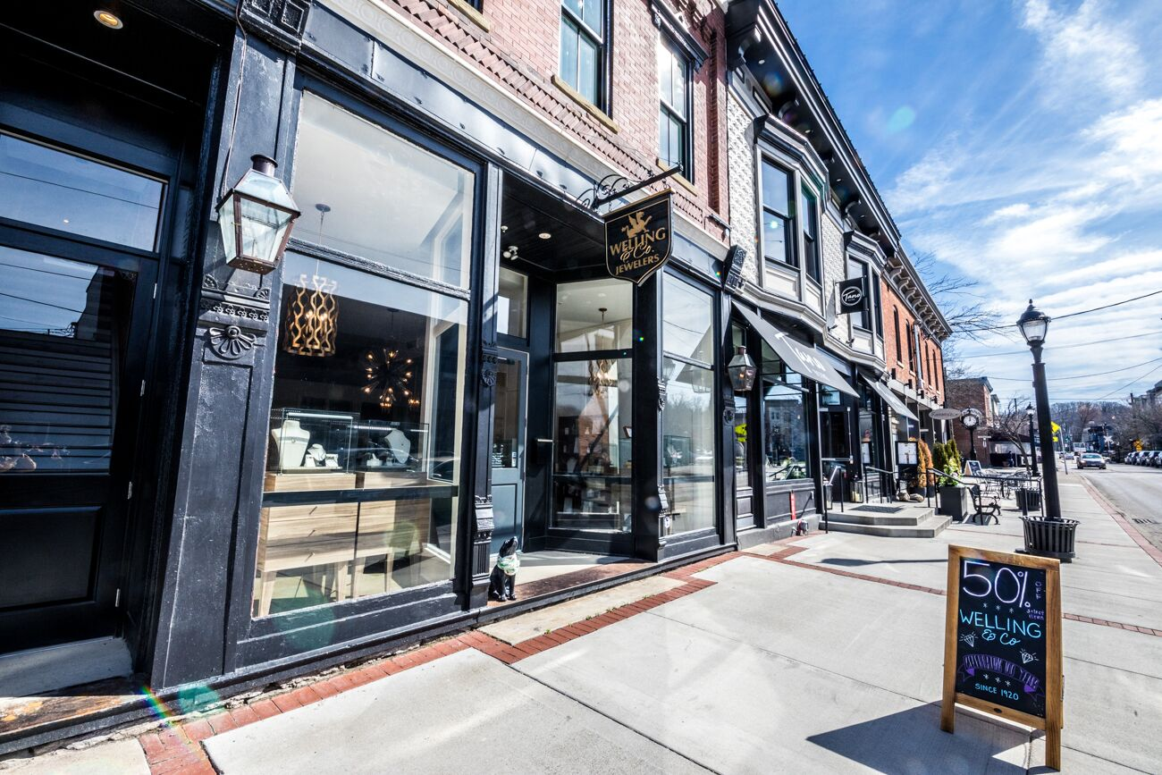 Enjoy close proximity to Downtown Loveland's retail corridor. / Image: Catherine Viox // Published: 5.26.20