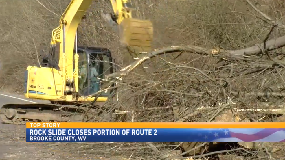 Route 2 Back Open After Rock Slide