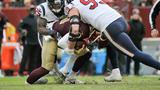 Redskins QB Alex Smith suffers broken leg in loss to Texans