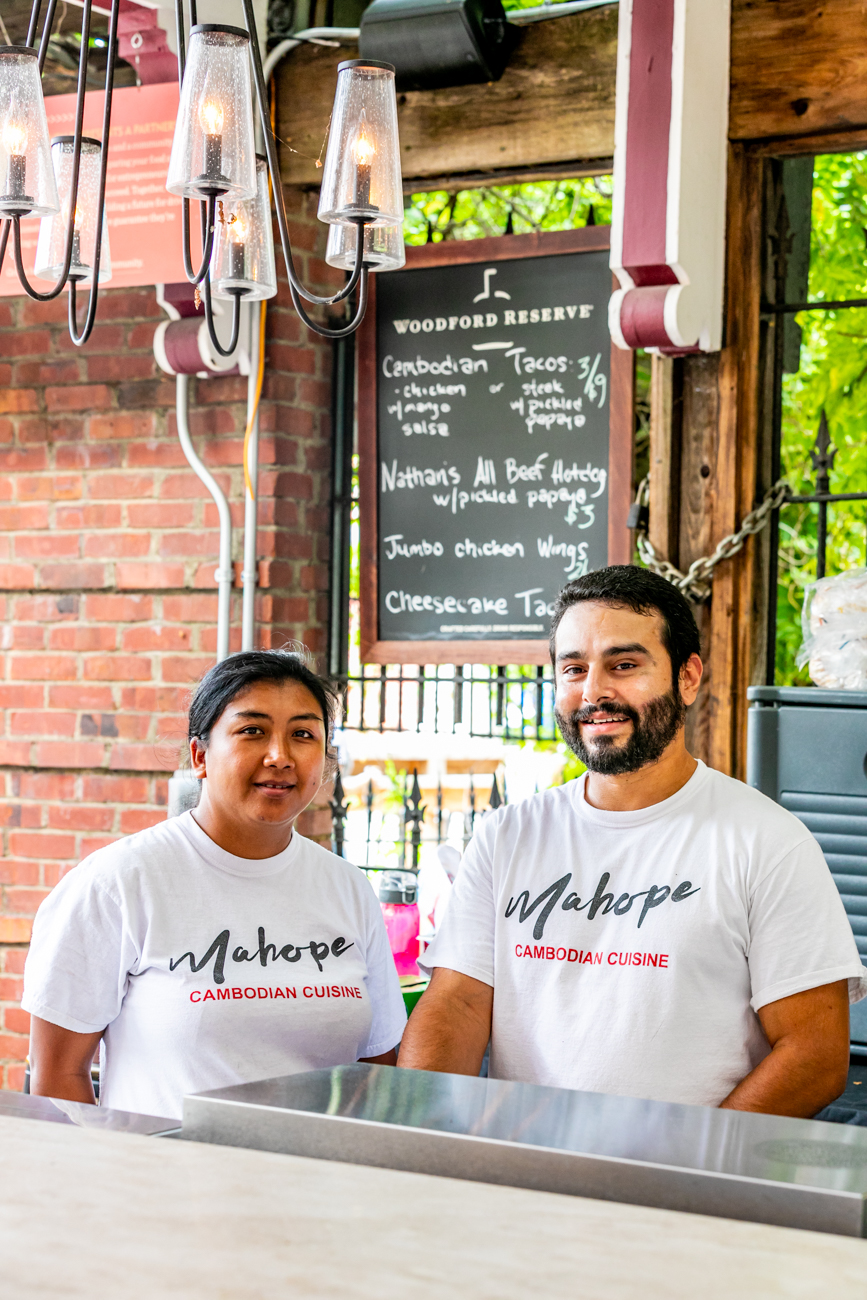Vy Sok and Mike Laguna, Mahope Cambodian Cuisine co-owners / Image: Amy Elisabeth Spasoff // Published:
