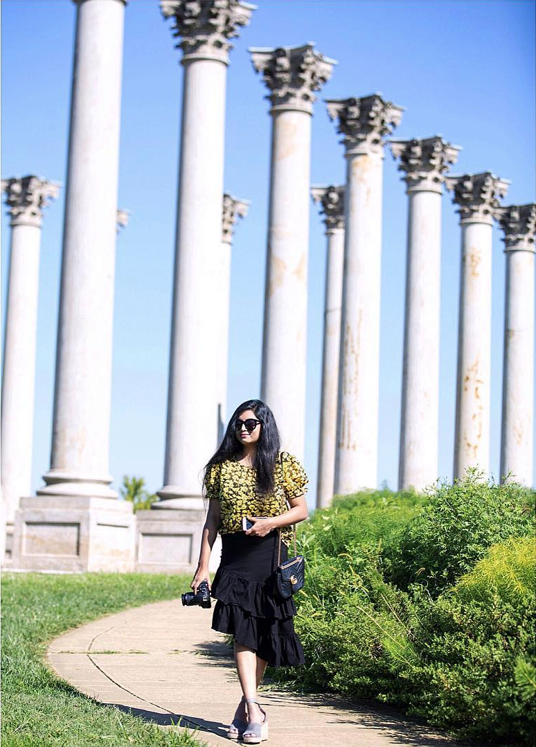 We do love it when our local fashionistas get to explore hidden gems like the Arboretum. (Image via @kavyaeda)