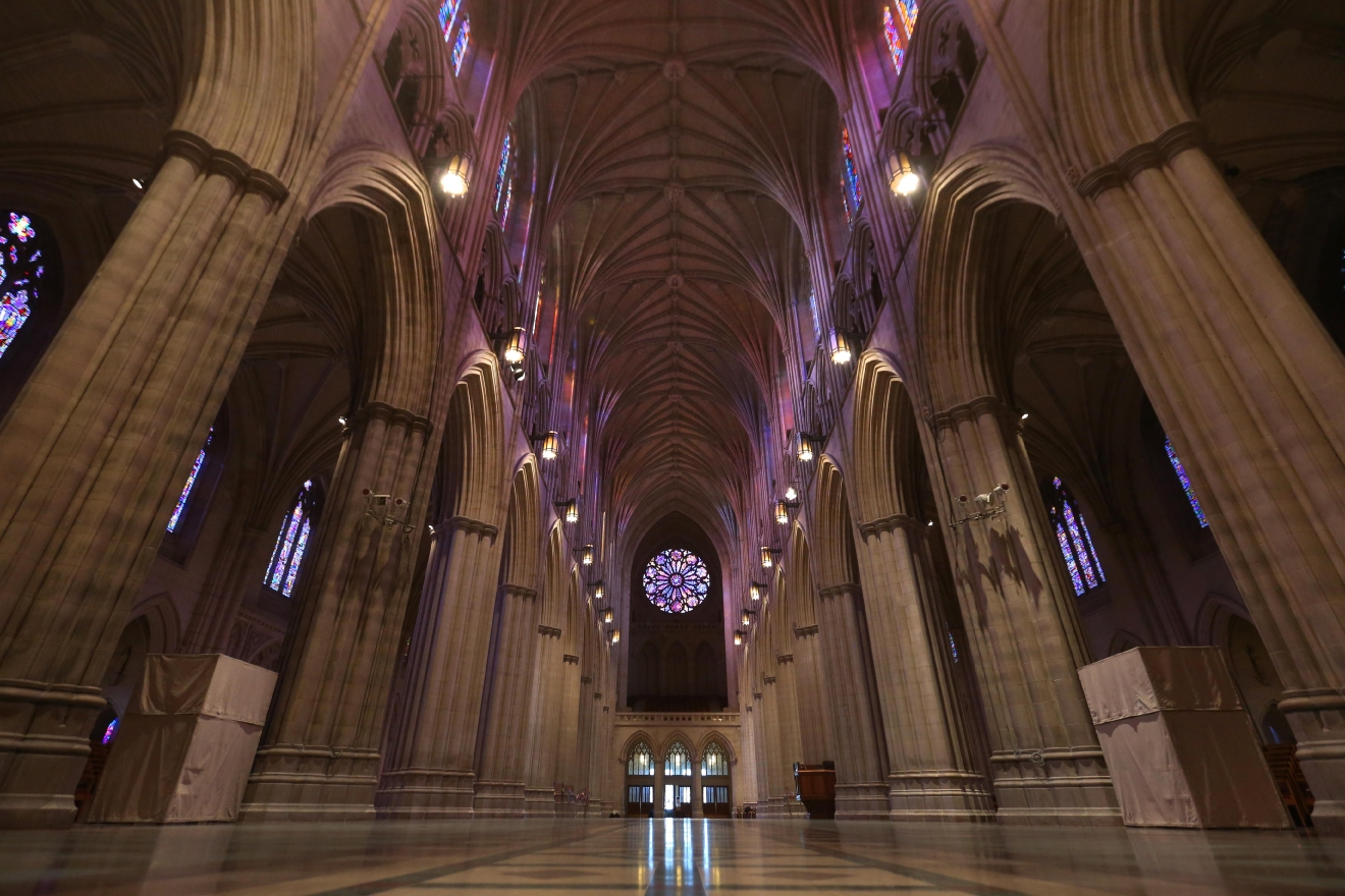 "The Washington National Cathedral is normally packed with both tourists and the devout, but photographers got an uninterrupted view of its beauty as a part of the cathedral's ""Seeing Deeper"" program. The week-long program also includes yoga classes, drum circles and a picnic. (Amanda Andrade-Rhoades/DC Refined)"
