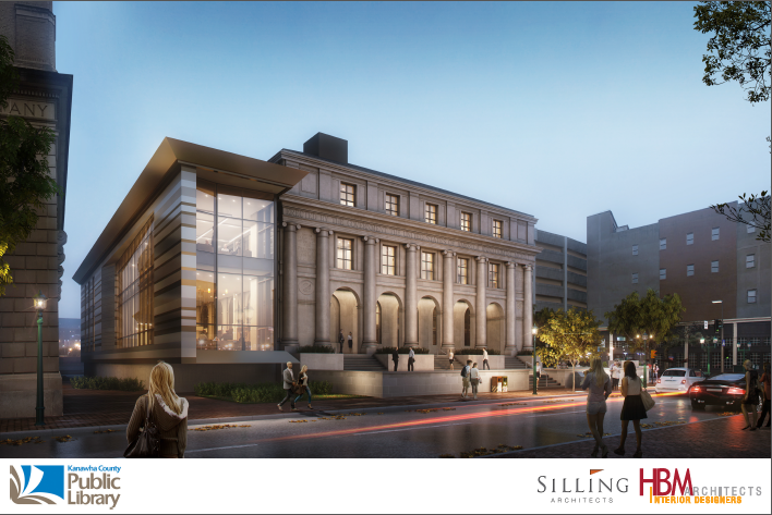 Several renderings revealed at the presentation. This one shows the planned renovated entrance.{&amp;nbsp;}<p></p>