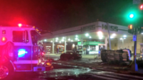 Officials: 1 dead and 1 seriously injured in major fiery crash at DC gas station