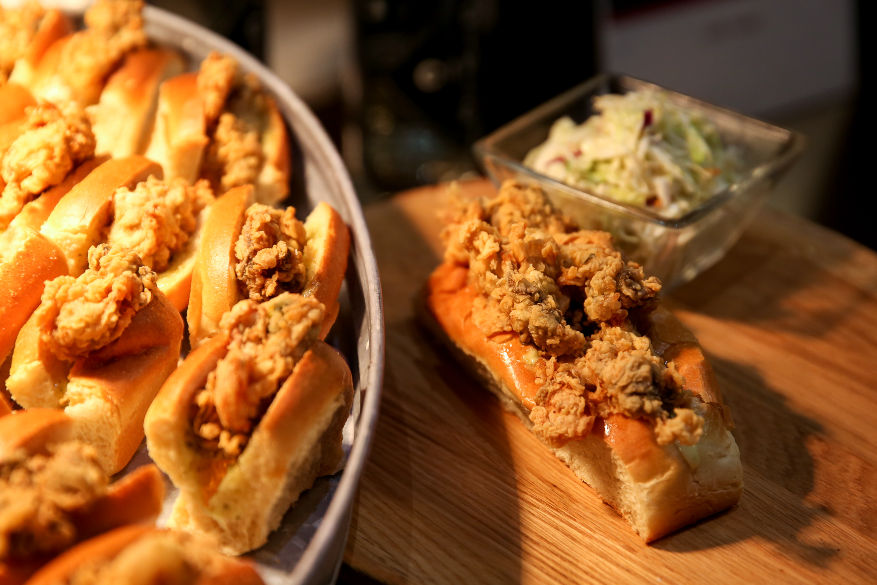 Hank's Oyster Bar will be slinging po'boys and more. (Amanda Andrade-Rhoades/DC Refined)
