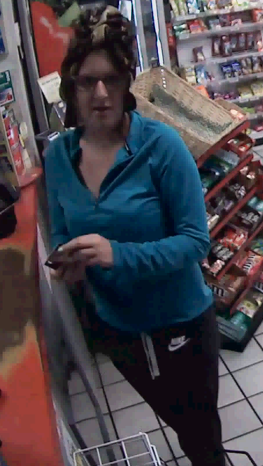 The Buncombe County Sheriff's Office believes the woman broke into and stole items from a vehicle in the Fairview area. They said the suspect then tried to use stolen credit cards at the Shell gas station at the corner of Patton Avenue and Johnston Boulevard. (Photo credit: Buncombe County Sheriff's Office)