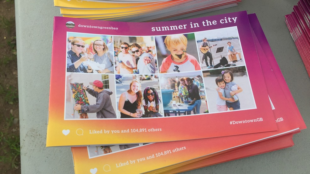 """Summer in the City"" guidebooks are displayed May 30, 2017, in Green Bay."