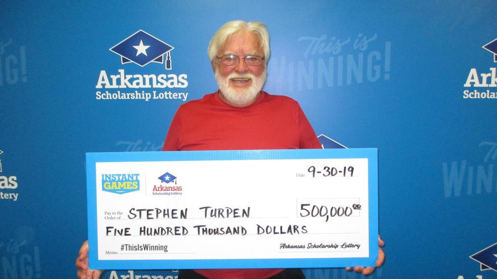 Hot Springs man wins $500K on Arkansas lottery scratch-off ticket