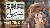 80th Big Hat Days This Weekend!