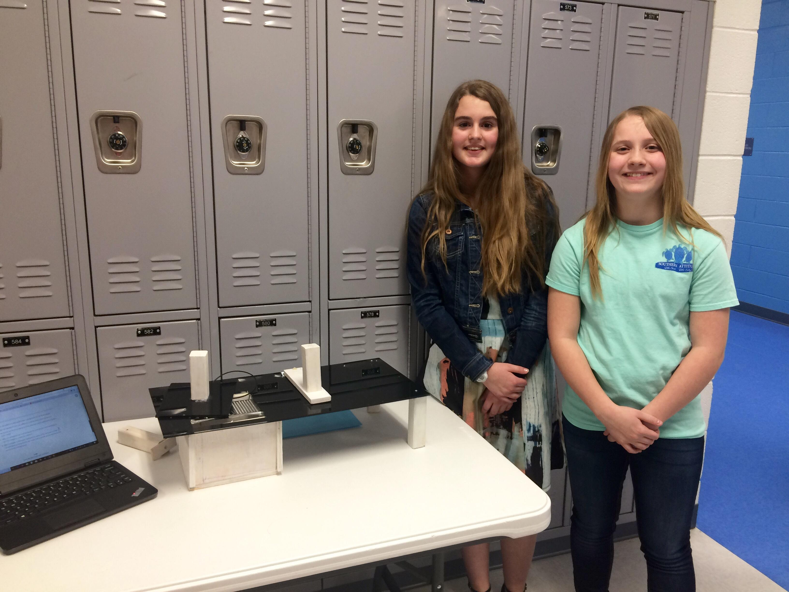 Sale Creek students design projects tailored to the special needs community. (Image: WTVC)