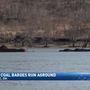 Rescue underway after four barges get stuck in Ohio River